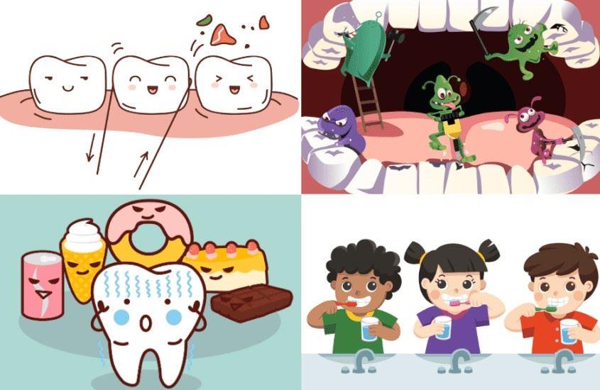Zdrowe zęby mam, bo o nie dbam