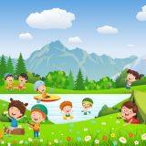 wakacje morze góry rzeka las kemping biwak