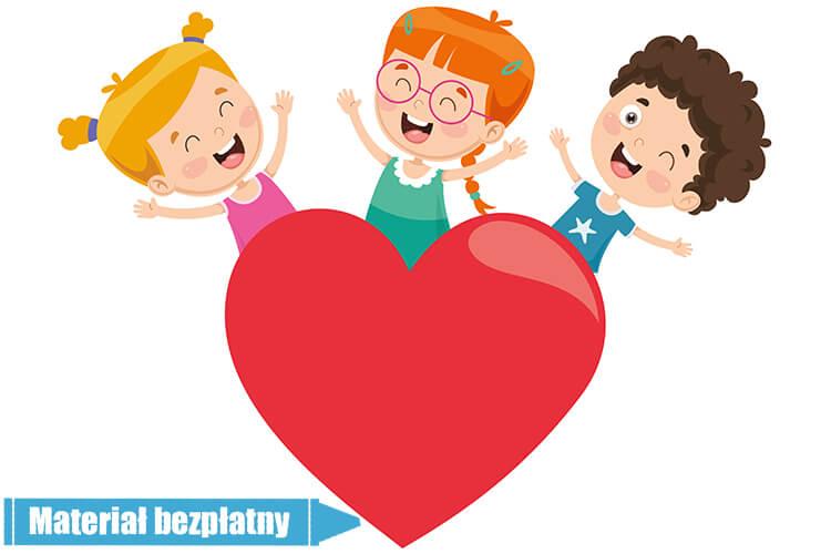 Uczucia i emocje – Dzieci Młodsze – Piątek 12.02.2021
