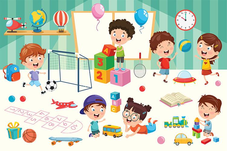 Poznajemy różne zabawy, gry i zabawki