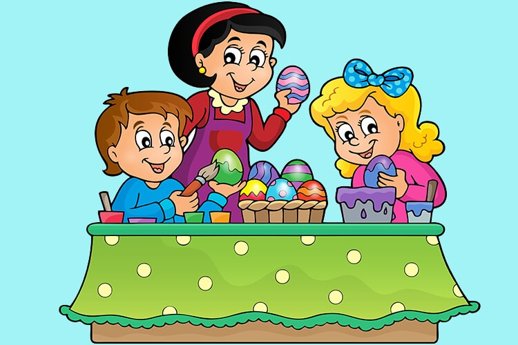 W oczekiwaniu na Wielkanoc – Dzieci Młodsze – Piątek 02.04.2021