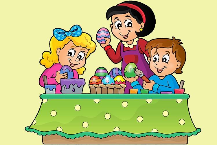 W oczekiwaniu na Wielkanoc – Dzieci Starsze – Piątek 02.04.2021