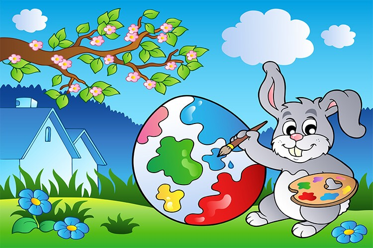 W oczekiwaniu na Wielkanoc – Dzieci Młodsze – Czwartek 01.04.2021