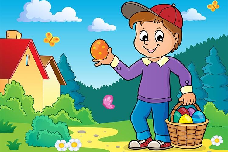 W oczekiwaniu na Wielkanoc – Dzieci Starsze – Poniedziałek 29.03.2021