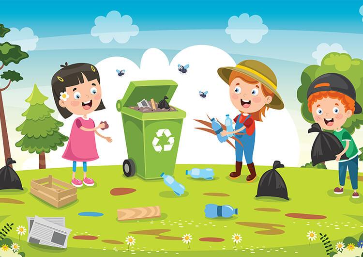 Dbamy o naszą planetę – Dzieci Młodsze – Poniedziałek 19.04.2021
