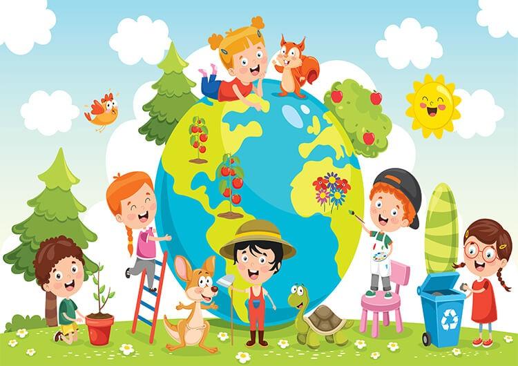 Dbamy o naszą planetę – Dzieci Młodsze – Czwartek 22.04.2021