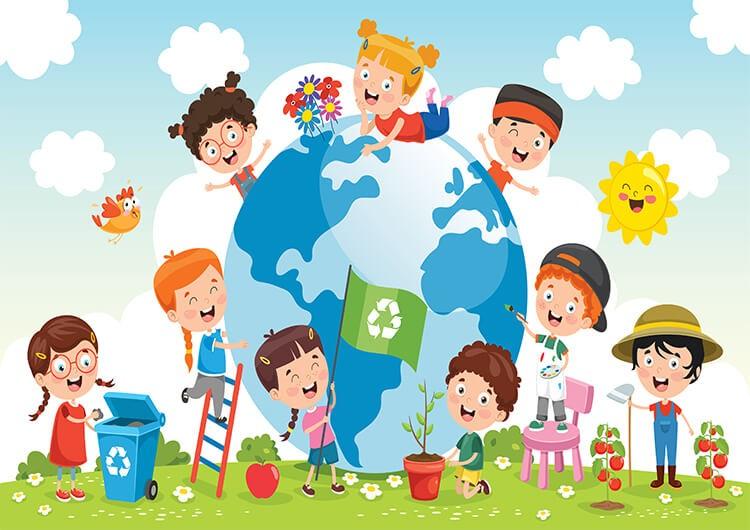 Dbamy o naszą planetę – Dzieci Starsze – Czwartek 22.04.2021