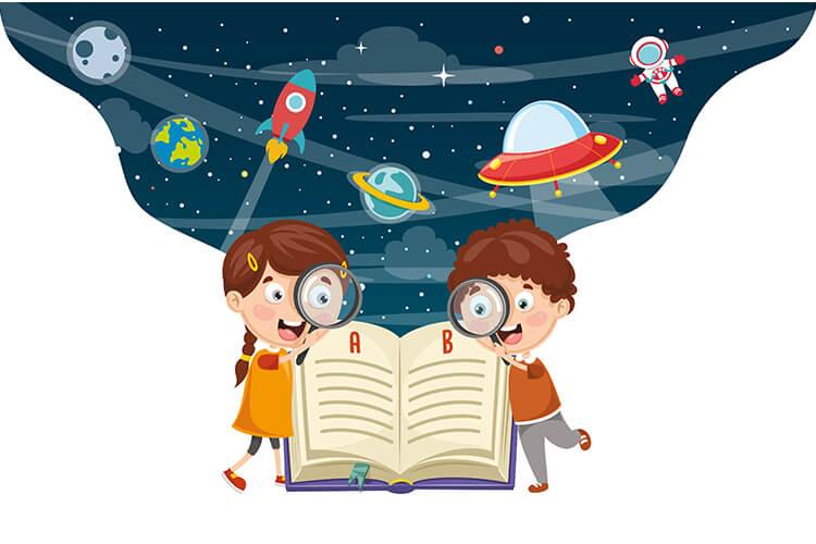 W przestrzeni kosmicznej – Dzieci Starsze – Piątek 21.05.2021