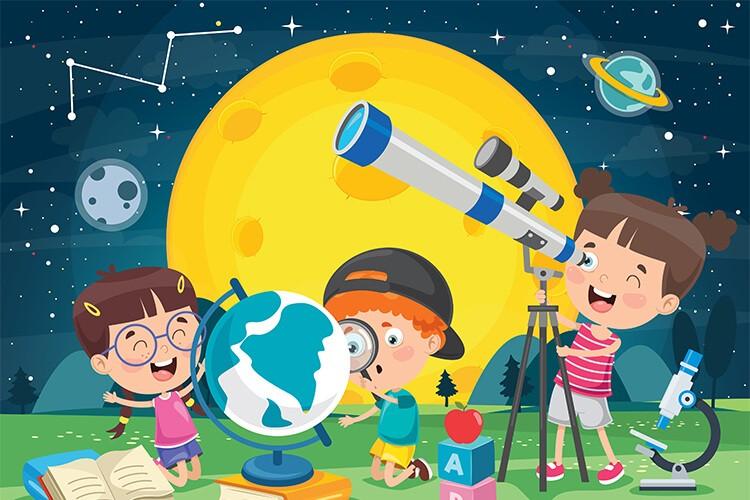 W przestrzeni kosmicznej – Dzieci Młodsze – Środa 19.05.2021