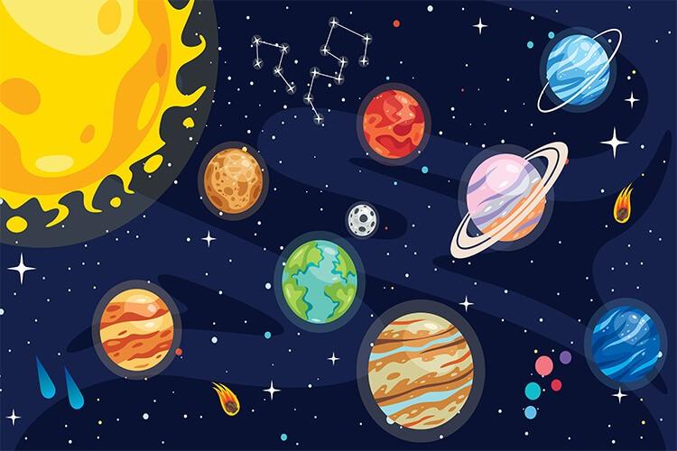 W przestrzeni kosmicznej – Dzieci Starsze – Poniedziałek 17.05.2021