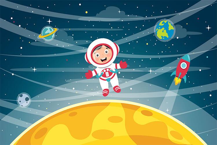 W przestrzeni kosmicznej – Dzieci Starsze – Czwartek 20.05.2021