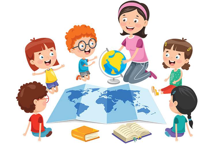 Dzieci z różnych stron świata – Dzieci Młodsze – Poniedziałek 31.05.2021