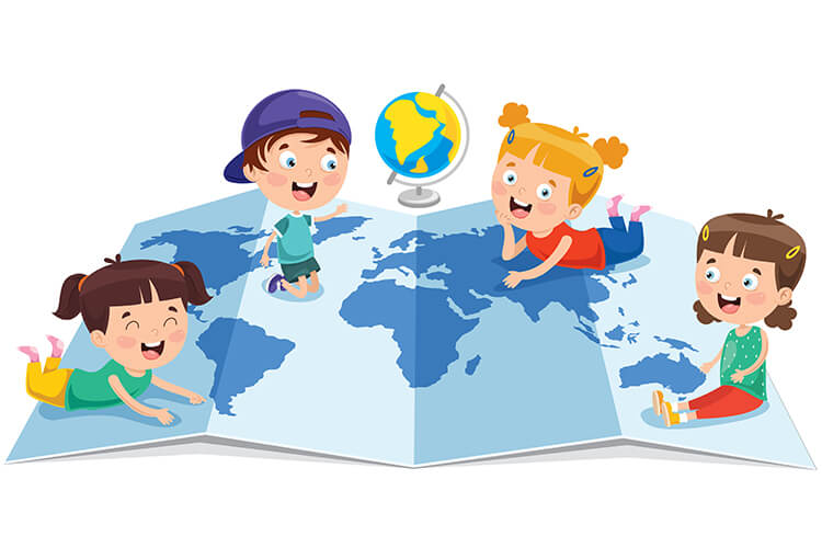 Dzieci z różnych stron świata – Dzieci Starsze – Poniedziałek 31.05.2021