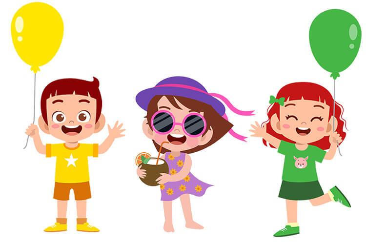 Kolory lata – Dzieci Starsze – Piątek 25.06.2021