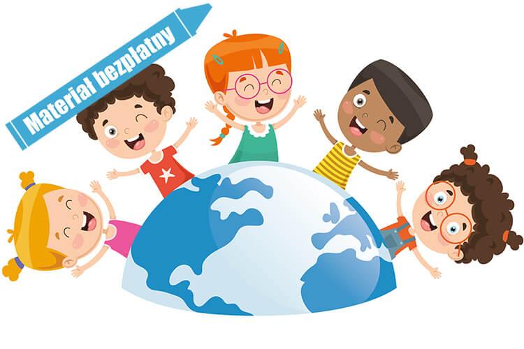 Dzieci z różnych stron świata – Dzieci Młodsze – Piątek 04.06.2021