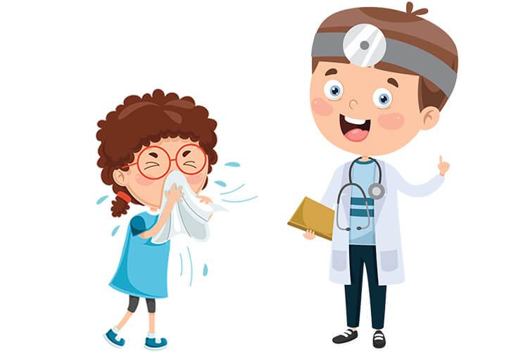 W gabinecie lekarskim – Dzieci Starsze – Czwartek 30.09.2021