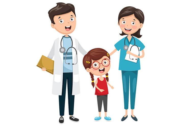 W gabinecie lekarskim – Dzieci Młodsze – Piątek 01.10.2021