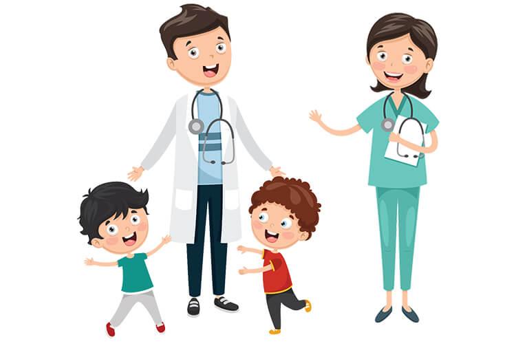 W gabinecie lekarskim – Dzieci Starsze – Piątek 01.10.2021