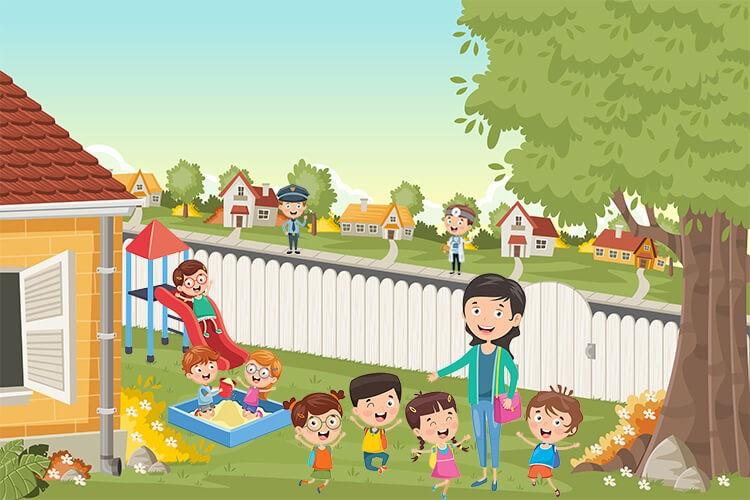 przedszkole jesień wrzesień