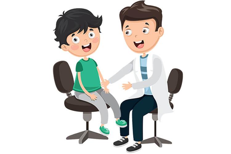 W gabinecie lekarskim – Dzieci Młodsze – Wtorek 28.09.2021
