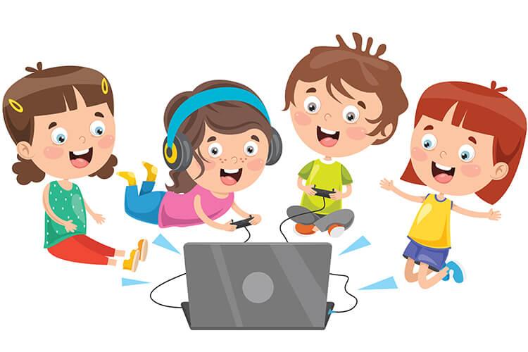 W komputerowym świecie – Dzieci Młodsze – Czwratek 14.10.2021