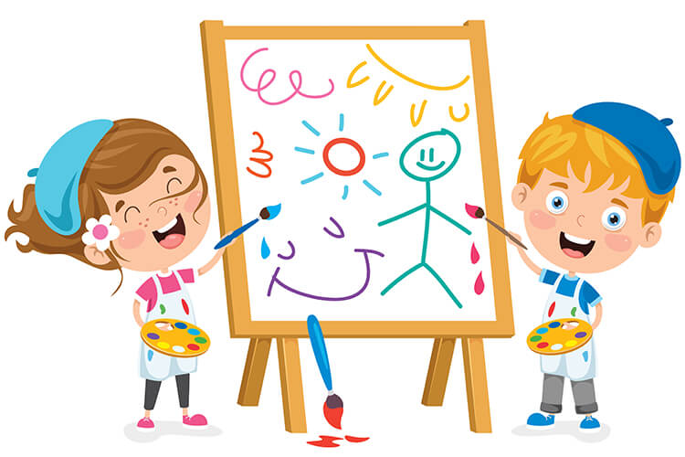 Jesienne zabawy – Dzieci Młodsze  – Poniedziałek 18.10.2021