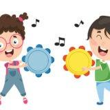 Jesienne zabawy muzyczne