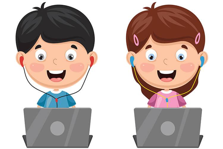 W komputerowym świecie – Dzieci Młodsze – Środa 13.10.2021