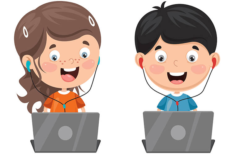 W komputerowym świecie – Dzieci Starsze – Środa 13.10.2021