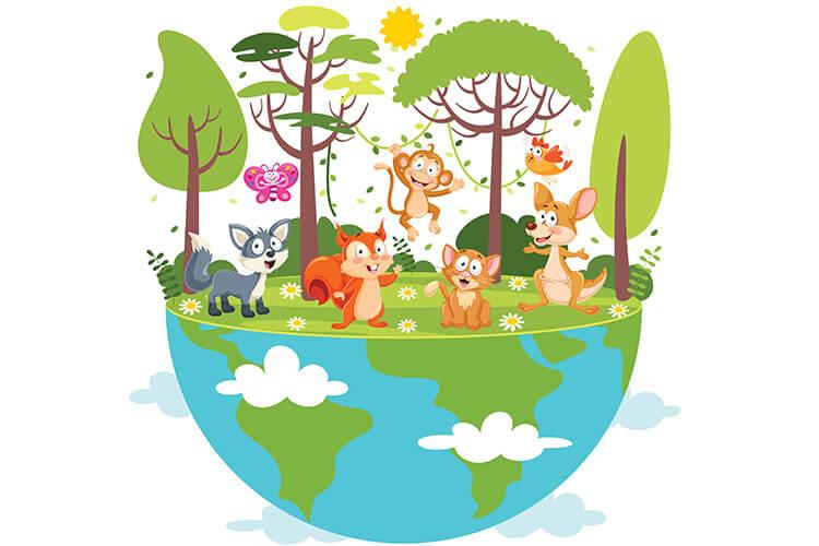 W świecie zwierząt – Dzieci Młodsze – Wtorek 05.10.2021