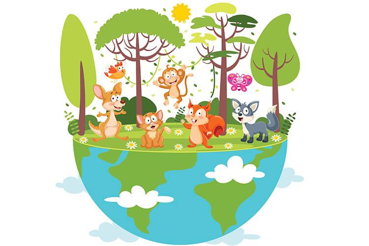 W świecie zwierząt – Dzieci Starsze – Wtorek 05.10.2021