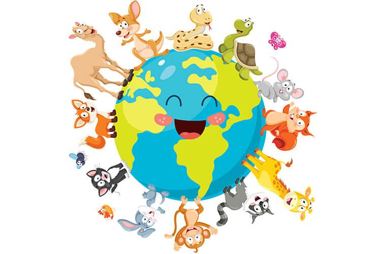 W świecie zwierząt – Dzieci Młodsze – Poniedziałek 04.10.2021