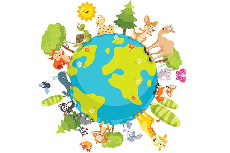 W świecie zwierząt – Dzieci Starsze – Poniedziałek 04.10.2021
